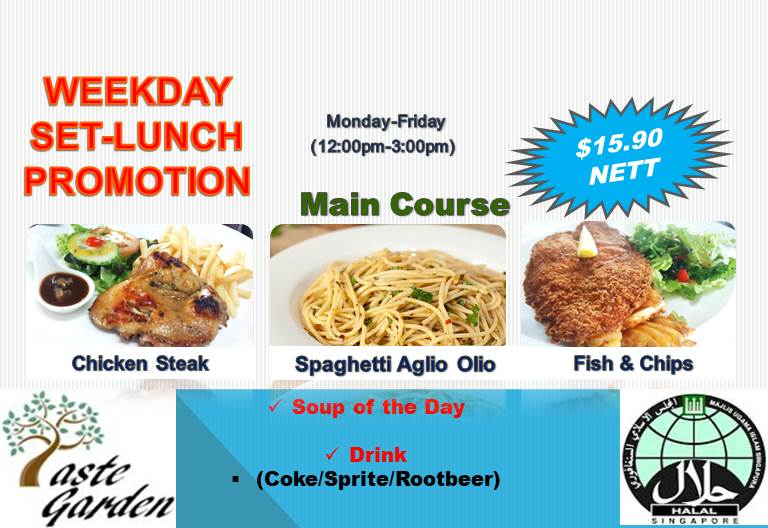 Weekday Set-Lunch Promotion
